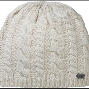 The North Face Fuzzy Cable Knit Beanie